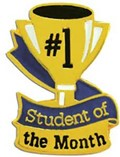 "Congratulations to our ""Students of the Month"" for April image"
