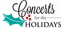 Concerts for the holidays holly graphic