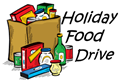 holiday food drive graphic