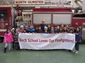 Birch School Loves Our Firefighters image
