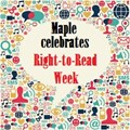 Maple Celebrates Right to Read Week image