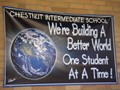 Picture of bannner Chestnut students building a better world