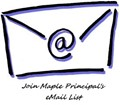 e-envelope graphic for principal's mailing list