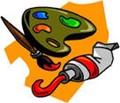 Paint palete clip art