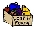 lost and found in graphic text