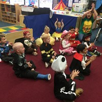 Halloween Party - Mrs. Rower's room (Forest)