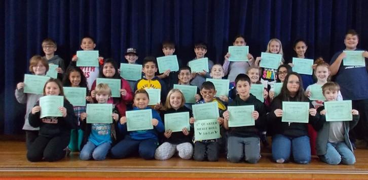 Q1 Merit Roll 5th grade