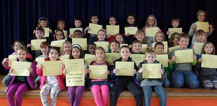 Q1 Honor Roll 3rd grade