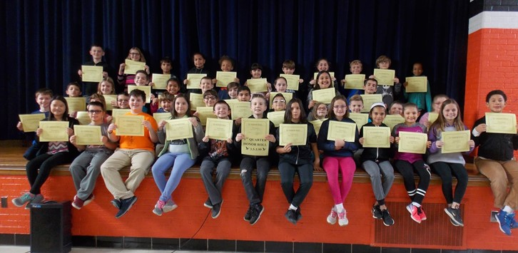 Q1 Honor Roll 4th grade