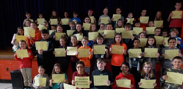 Q1 Honor Roll 6th grade