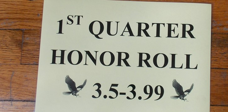 Honor Roll Sign