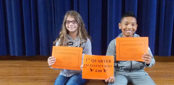 Q1 Eagle Excellence Roll 5th grade