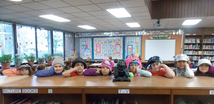 Student Council Spirit Day Hat LIneup