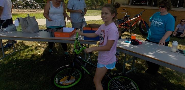 Walk-a-thon Bike Winner