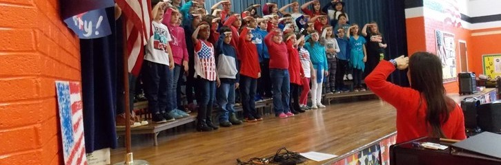VETERANS DAY AT MAPLE
