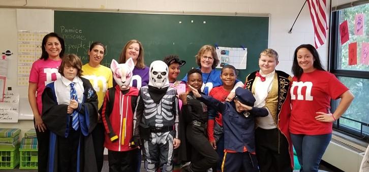 Mrs. Chadwick and Mrs. Dickey's class
