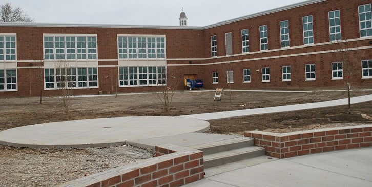 Middle School Courtyard
