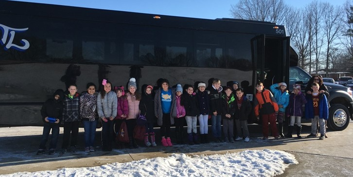 Mrs. Phillips' class headed to Great Lakes Science Center