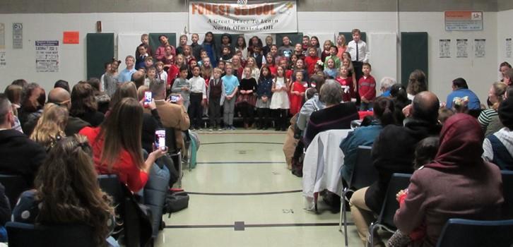 2nd Grade December Choir Performance