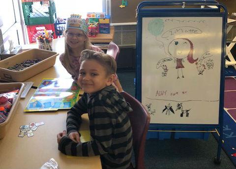 Mrs. Kutchel's students