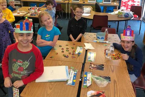 Mrs. Kutchel's class explores 100
