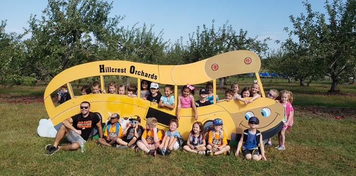 Hillcrest Orchard field trip