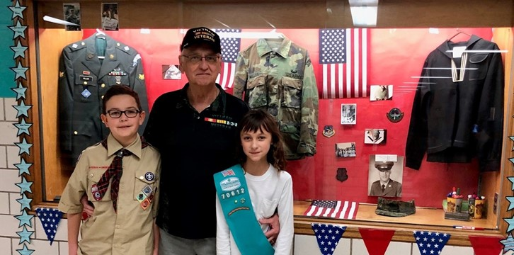 Students with Veteran