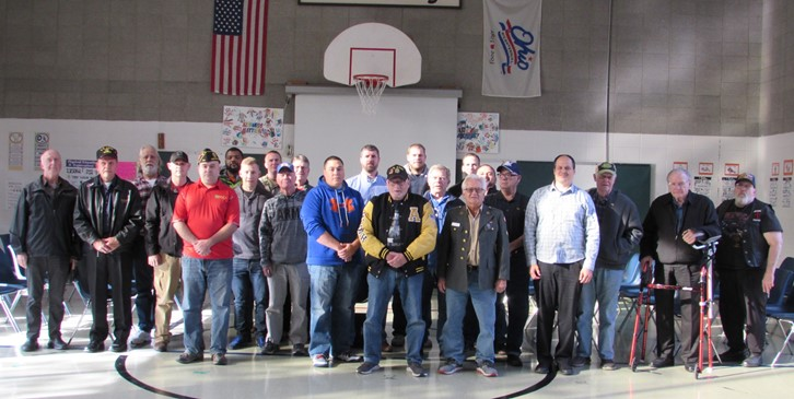 Veterans at our Recognition