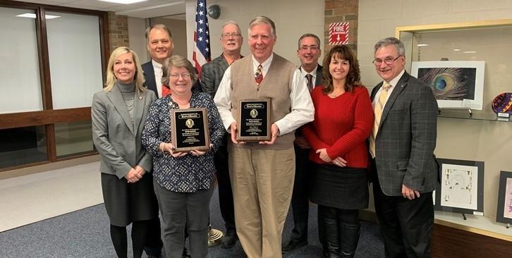 Recognizing Retiring Board Members
