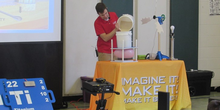 Science Assembly Balloon Experiment