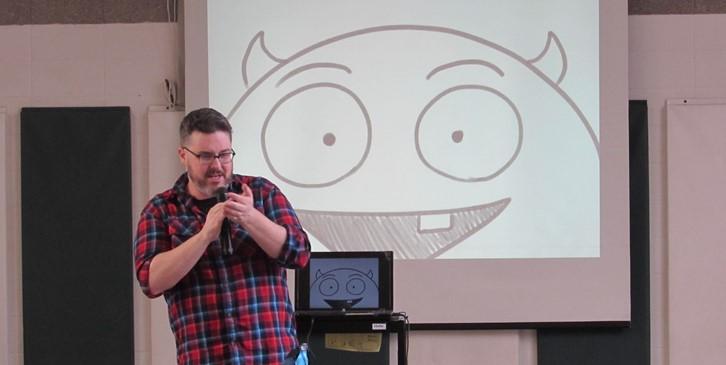 Author/Illustrator Bill Cotter