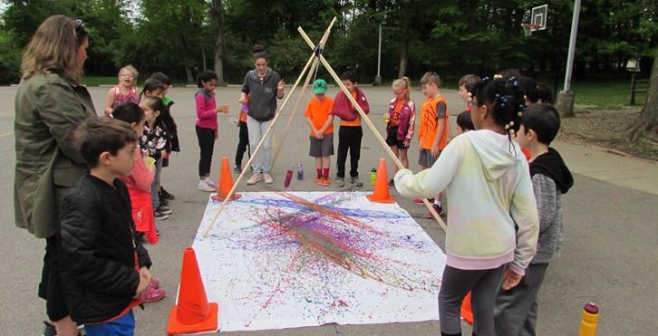 Field Day Art Activity