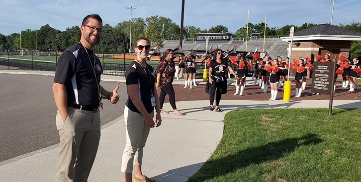 Marching Band directors