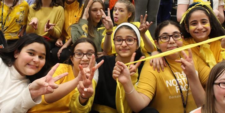 Yellow Team pep rally