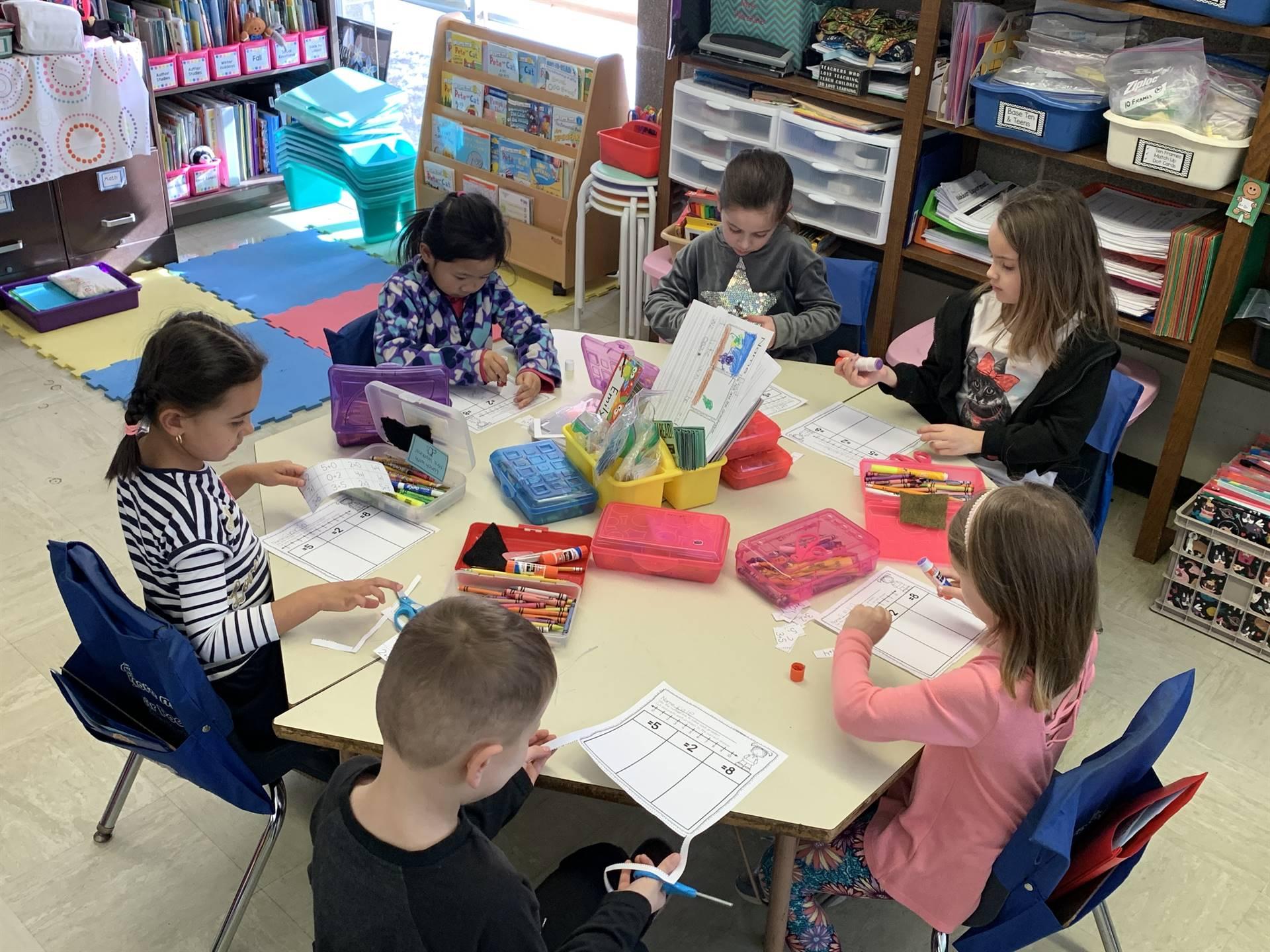 kindergarten classroom photo